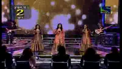 Sajda Sisters sing a peppy Le Kar Hum Deewana Dil- X Factor India - Episode 30 - 26th Aug 2011