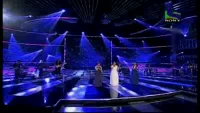 Sajda Sisters' mesmerizing performance on a medley- X Factor India - Episode 31 - 27th Aug 2011