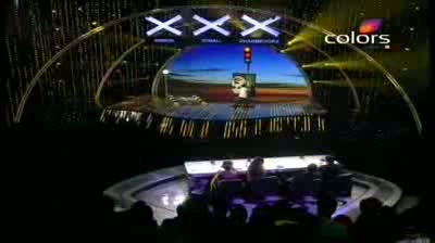 India's Got Talent Season 3 - (27-August-2011) Vilas' portrait of Sachin bowled Salman