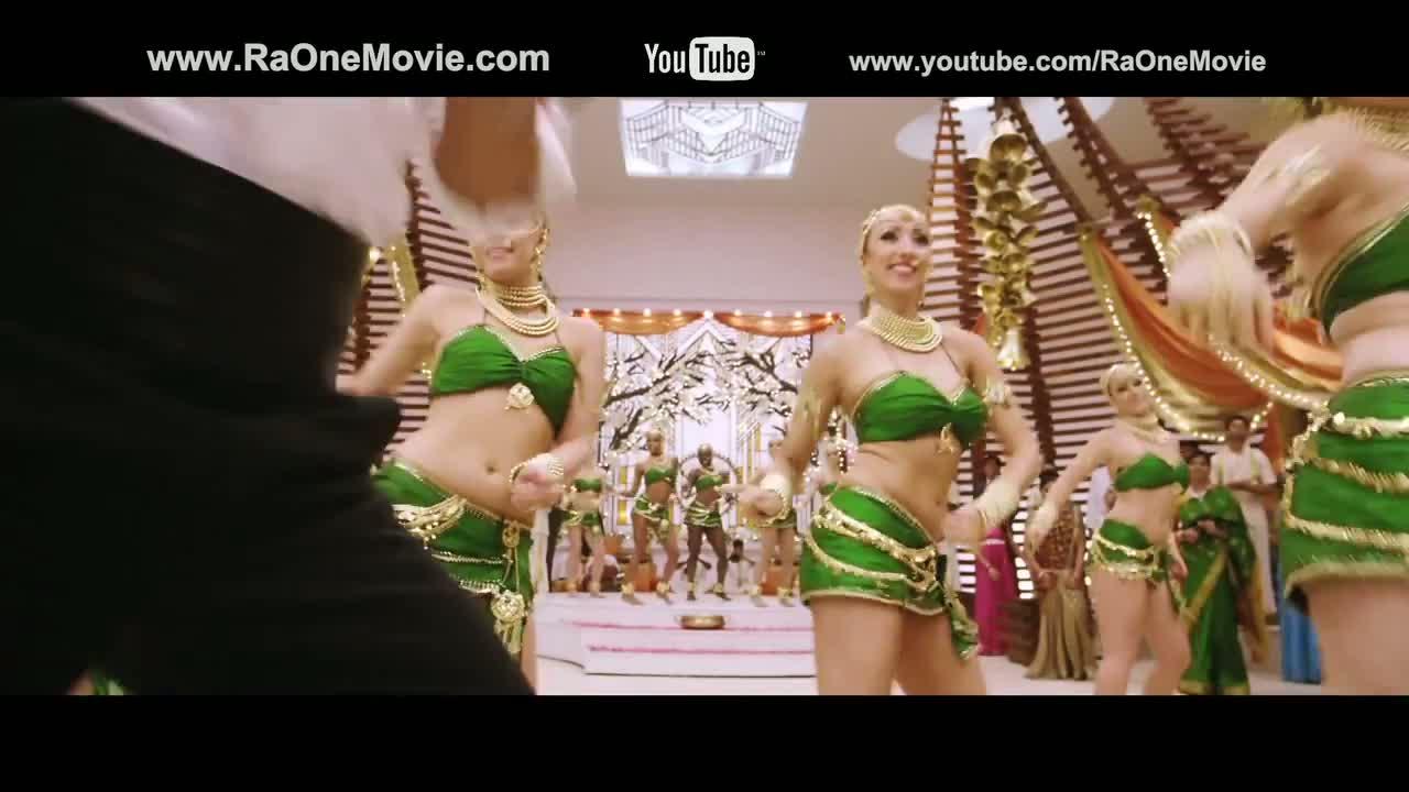 "Chammak challo"" (Official video song) 'Ra.One' Shahrukh khan, Kareena Kapoor"