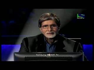 Section Engineer Mahendrakant Adkane from Madhya Pradesh, on Hot Seat- Episode 12 - KBC 2011 - 1st Sep 2011