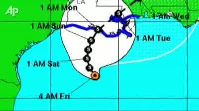 Hurricane Katia - Gulf Coast Braces for Tropical Depression