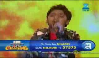 Saregamapa L'il Champs 2011 September 02 '11 - Niladri
