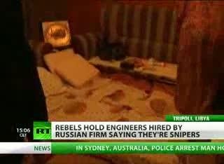 'Gaddafi sniper' Russian cooks locked up by Libya rebels