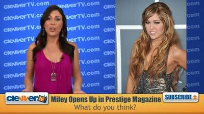 Miley Cyrus Talks Bad Girl Image in Prestige Magazine
