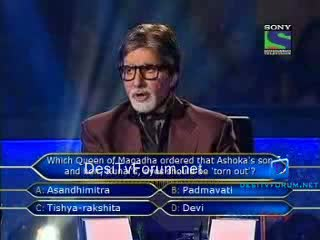 Kaun Banega Crorepati Season 5 (12th-September-2011) Part 8