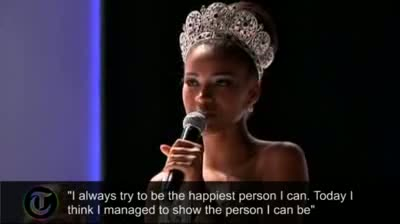 Miss Angola crowned Miss Universe in Brazil