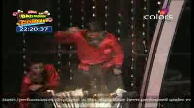 India's Got Talent Season 3 - (16-September-2011) Faith in Action dabble with fire