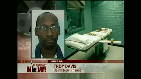 Benjamin Jealous of NAACP on Global Movement to Stop the Execution of Troy Davis in Georgia