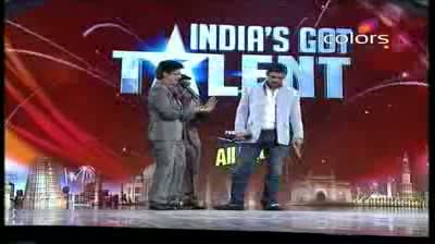 India's Got Talent Season 3 - (17-September-2011) John, Genelia enter as special guests