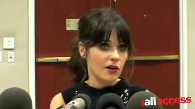 STRONG SCRIPT MADE ZOOEY DESCHANEL TAKE ON 'NEW' CHALLENGE