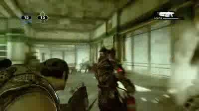 Gears of War 3- Dancing Wretch Easter Egg