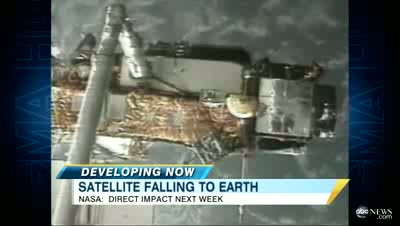 Five -Ton Satellite Falling to Earth, Where Will it Hit