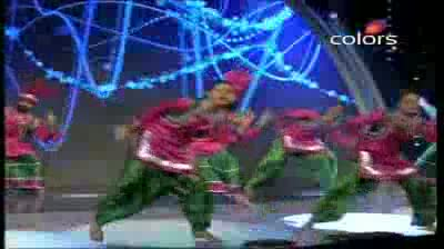 India's Got Talent Season 3 - (23-September-2011) Showstoppers' energetic & entertaining act