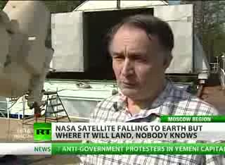 NASA UARS satellite to hit Earth... anywhere