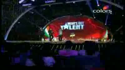 India's Got Talent Season 3 - (1-October-2011) Sanjay's entertaining final dance (Grand Finale)