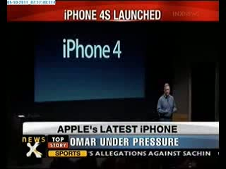 Apple Iphone 4S launched with features Siri, iCloud