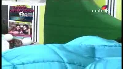 Bigg Boss 5 -- (7-October-2011) Inmates try to wake up Mishra and Mahek