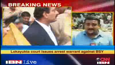 K'taka - Arrest warrant issued against BS Yeddyurappa