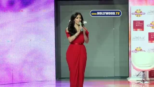 Dubai is Crazy For Kim Kardashian & Kris Jenner - Opening of Millions of Milkshakes