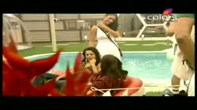 Bigg Boss 5 - Mahek, Amar, Shonali and Juhi nominated (17-October-2011)