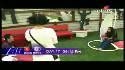 Bigg Boss 5 - Siddharth selects Pooja Bedi, shonali (19-October-2011)