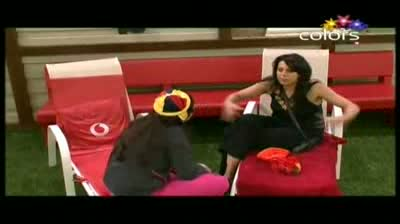 Bigg Boss 5 - 'My maid dances better than Shonali,' Mandeep (20-October-2011)