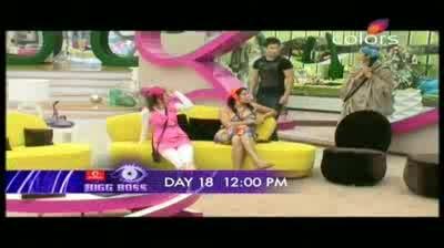 Bigg Boss 5 - Pooja Bedi laughs at Mahek (20-October-2011)
