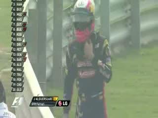 Jaime Alguersuari Crash Free Practice 1 FP1 - Round 17 - India GP 2011 [HQ]