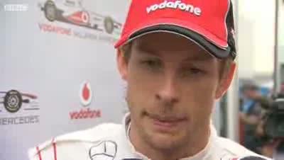 Lewis Hamilton's Penalty - Jenson Button - BBC F1 2011 - Round 17 - India