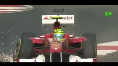 F1 2011 India Felipe Massa Crash Qualifying Q3 - Round 17 - India [HD]