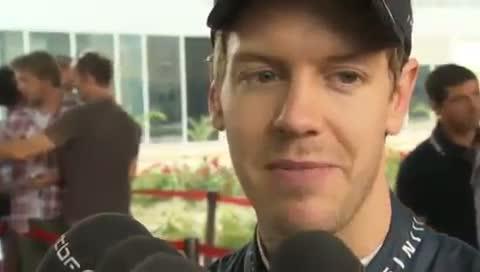 Sebastian Vettel 'Honoured' To Win First Indian GP - BBC - F1 2011 - Round 17 - India