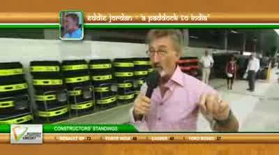Eddie Jordan - Constructors Battle - BBC - F1 2011 - Round 17 - India