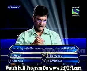 Kaun Banega Crorepati 3rd November 2011 Part 4