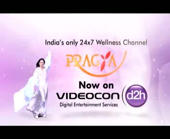Pragya TV now on Videocon d2h Channel No. 624
