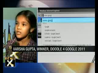 Doodle for Google winner Varsha Gupta