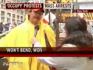 Occupy Wall Street - 300 arrested in New York