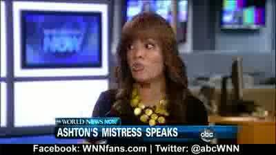 Ashton Kutchers Mistress Speaks Out