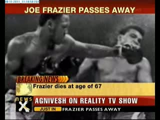 Boxing legend Joe Frazier passes away