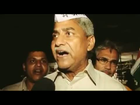Anna Hazare protest for lokpal bill