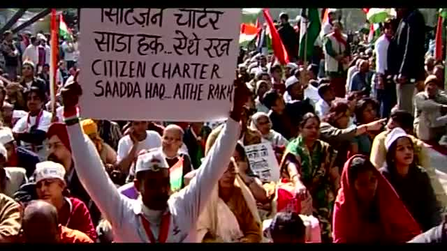 Lokpal Bill, Anna Hazare - Sadda Haq Song On Corruption
