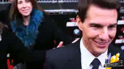 Tom Cruises Dodges Question on More Children, Says Suri is a Sweetheart