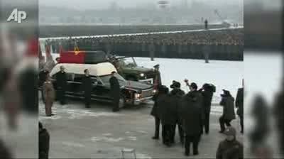 North Korea Funeral Procession