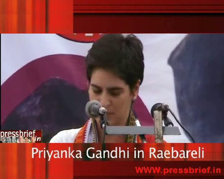 Priyanka Gandhi Vadra in Raebareli,23.03.09
