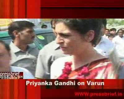 Priyanka Gandhi Vadra in Raebareli_23-03-2009