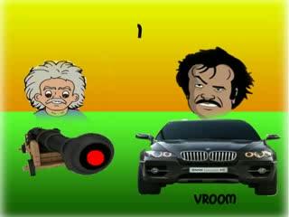 Rajnikanth Jokes - Rajnikanth Explain The Reason For Einstein's Death