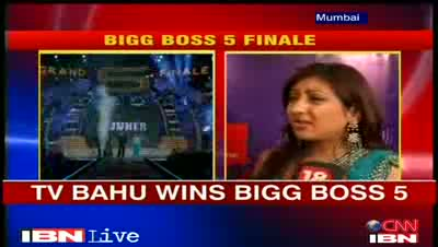 Juhi Parmar beats Mahek Chahal to win Bigg Boss 5