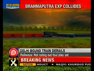 Bramhaputra Mail collides with goods train in Jharkhand, 2 dead