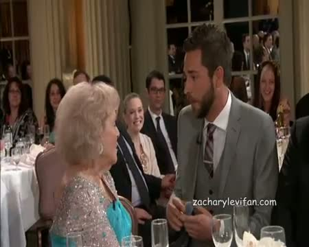 Zachary Levi at Betty Whites 90th Birthday - A Tribute To Americas Golden Girl