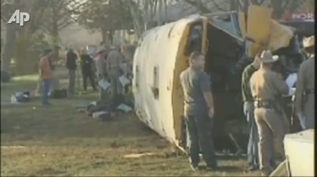 School Bus Crash Sends 32 to Hospital